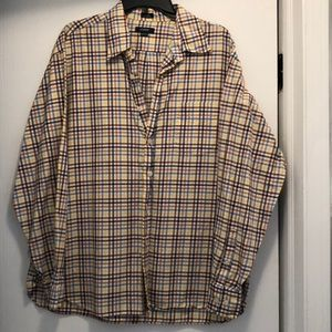 Men's XL button down. Multi-colored. J crew.